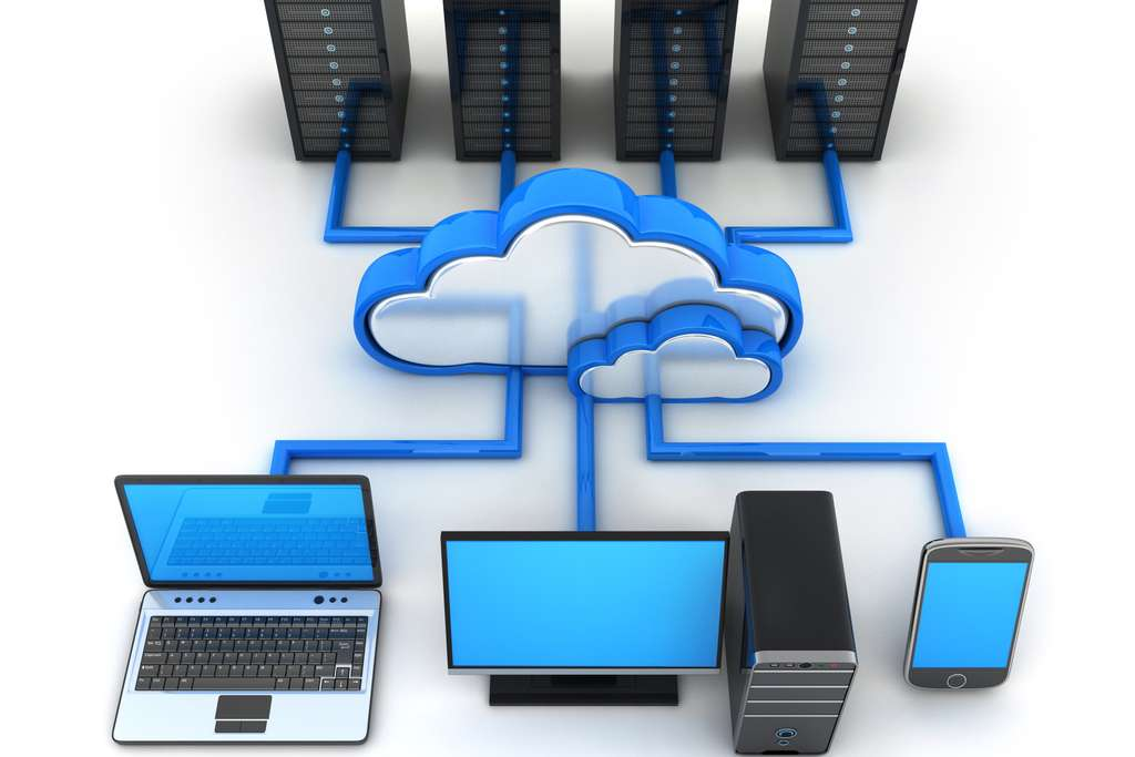Cloud storage gives access through an account on any device safely despite common cloud myths.