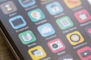 mobile apps on phone